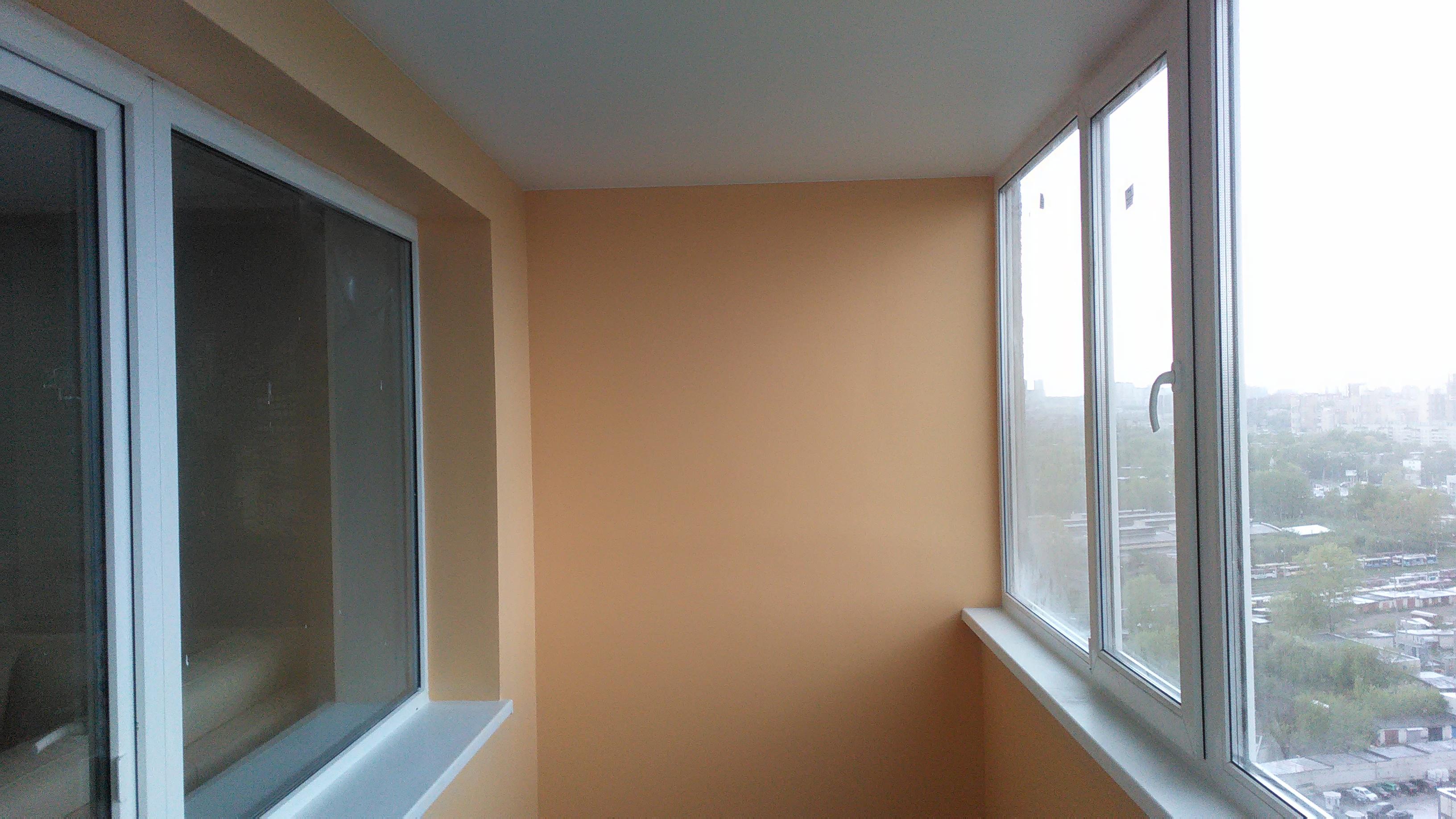 Как покрасить балкон внутри своими руками 15